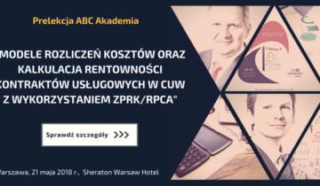 """Wykład ABC Akademia na konferencji """"Finanse w Centrum Usług Wspólnych"""""""
