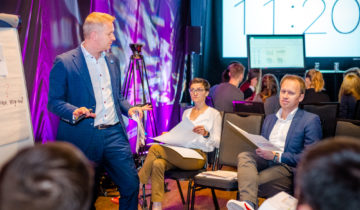 Wykład dr Tomasza M. Zielińskiego podczas NextG - kongresu firm rodzinnych